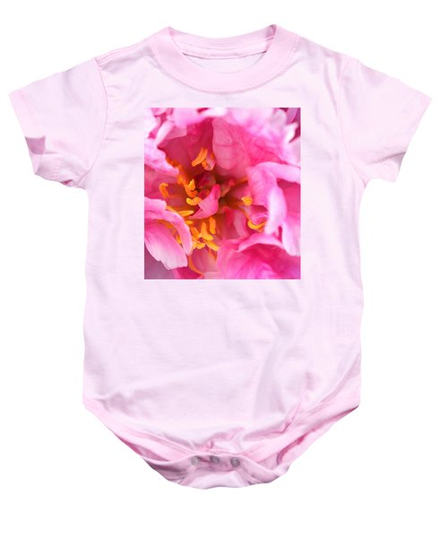 Pink Beauty Baby Onesie