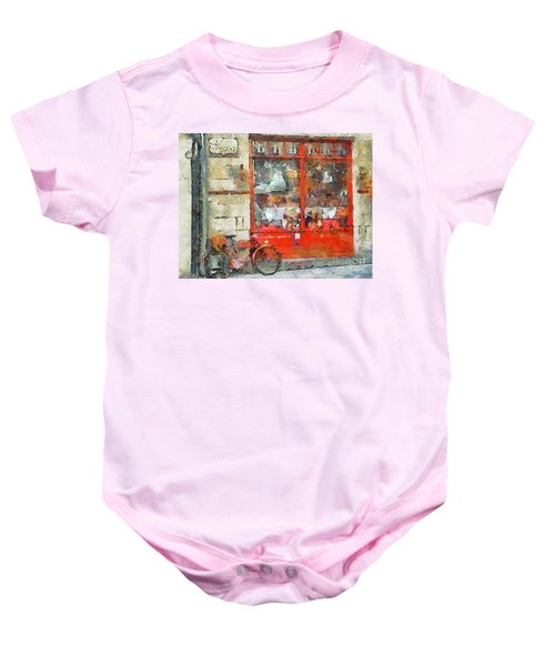 Postcard Perfect Baby Onesie