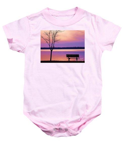 Presque Isle Solitude 11.12.12 Baby Onesie