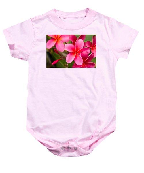 Pretty Hot In Pink Baby Onesie