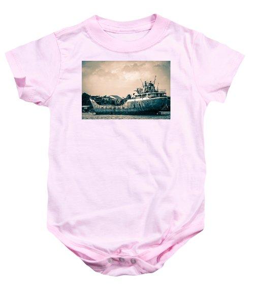 Rusty Ship Baby Onesie
