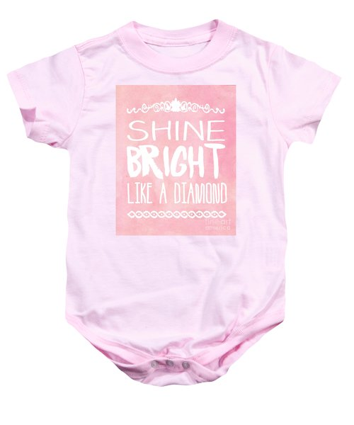 Shine Bright Baby Onesie by Pati Photography
