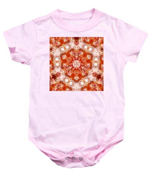 Solar Hypercube Baby Onesie