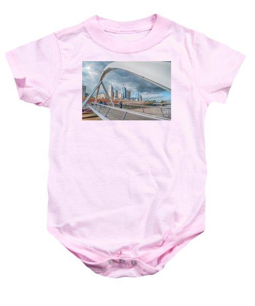 Southgate Bridge Baby Onesie