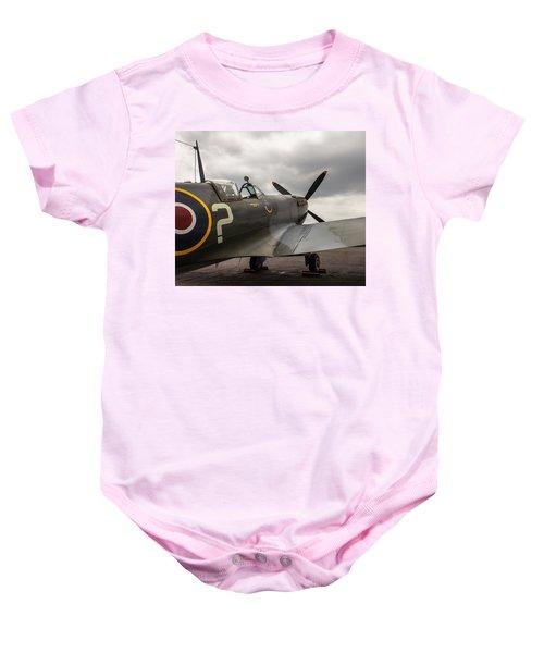 Spitfire On Display Baby Onesie