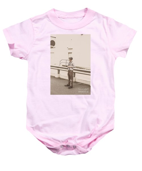 Suspended In Past Times  Baby Onesie