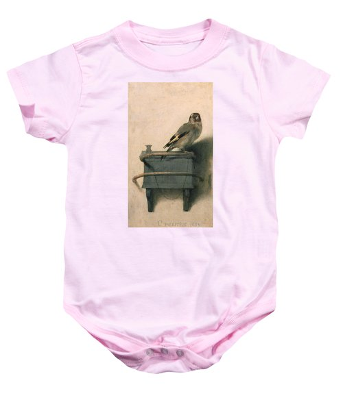 The Goldfinch Baby Onesie