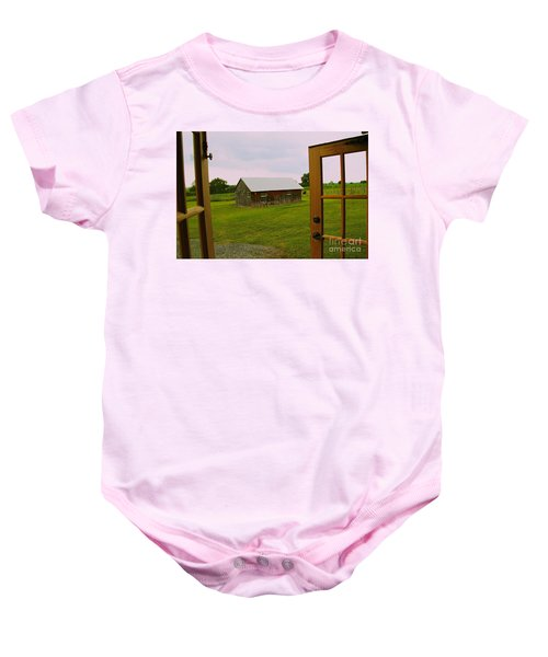 The Grounds Baby Onesie