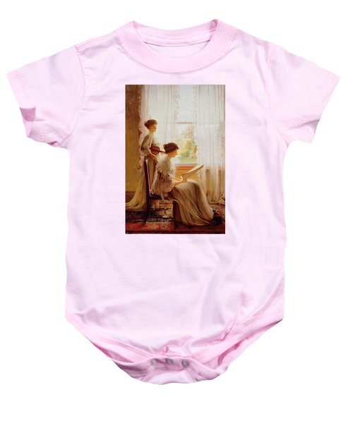 The Music Lesson, C.1890 Baby Onesie