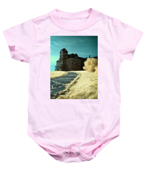 The Old Odd Fellows Home Color Baby Onesie