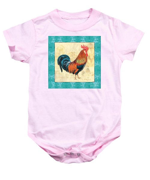 Tiffany Rooster 1 Baby Onesie