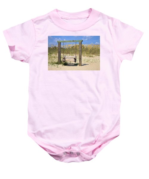 Tybee Island Swing Baby Onesie