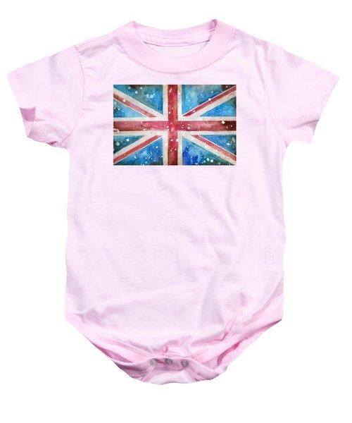 Union Jack Baby Onesie