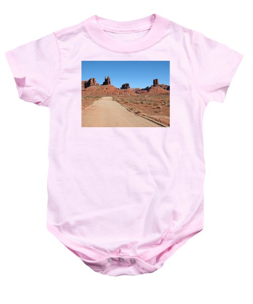 Valley Of The Gods Baby Onesie