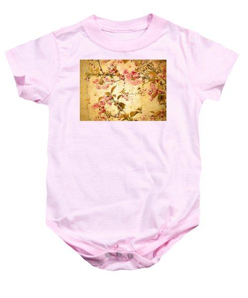 Vintage Blossom Baby Onesie