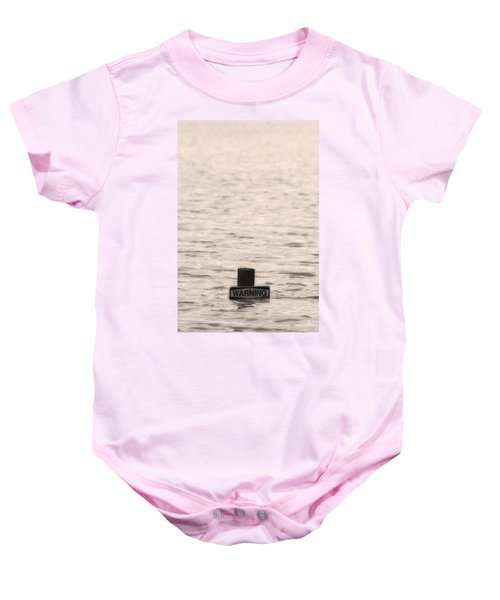 Warning Midwest Floods Baby Onesie