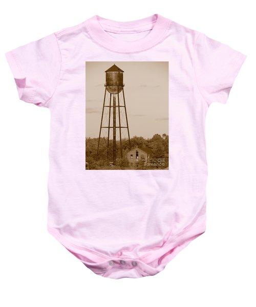 Water Tower Baby Onesie