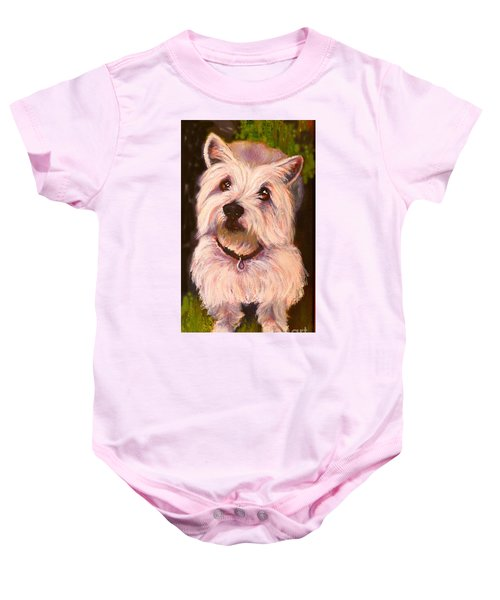 West Highland Terrier Reporting For Duty Baby Onesie