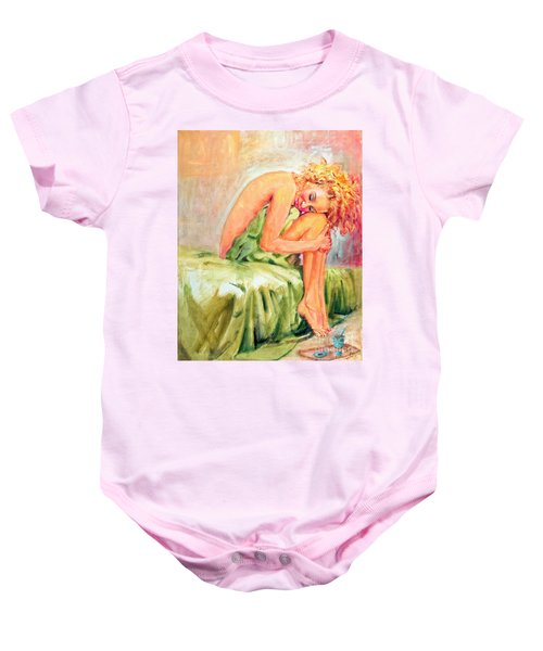 Woman In Blissful Ecstasy Baby Onesie