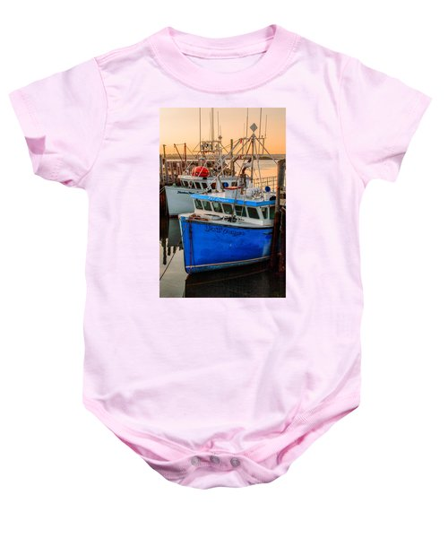 Yarmouth Harbour Baby Onesie