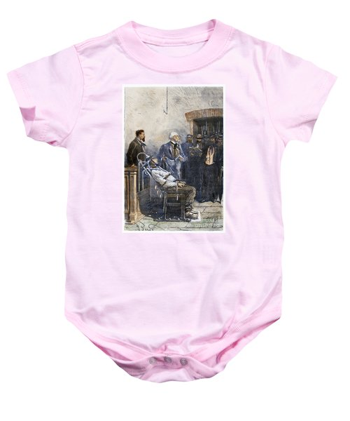Electric Chair Baby Onesies  8799836b3
