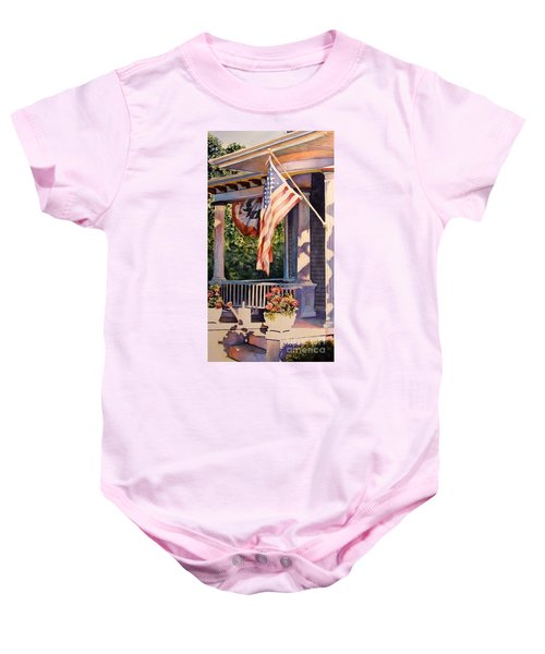 Hot August Night Baby Onesie