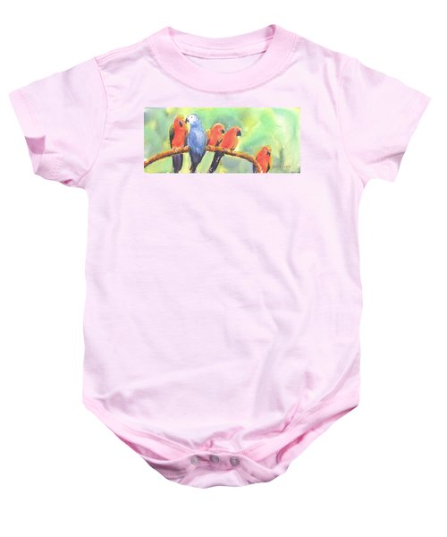 A New Slant On Life Baby Onesie