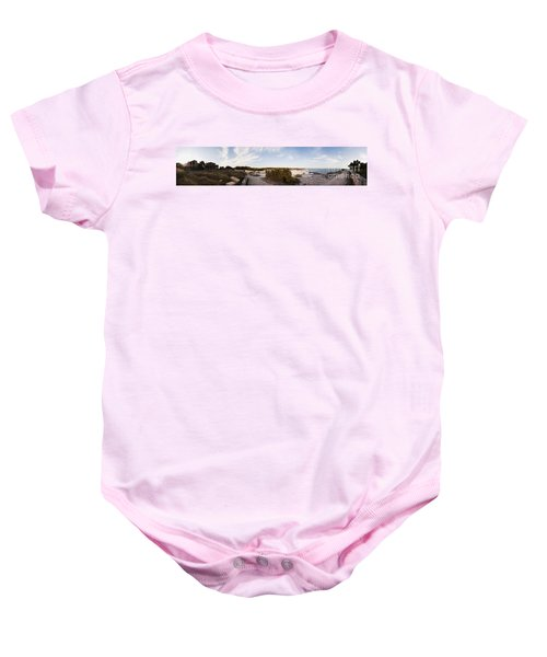 Access To The Beach Of Es Trenc Baby Onesie