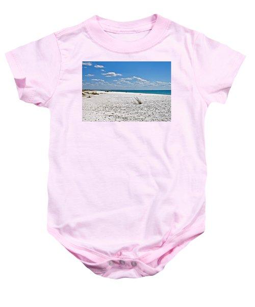 Beach Landscape Baby Onesie
