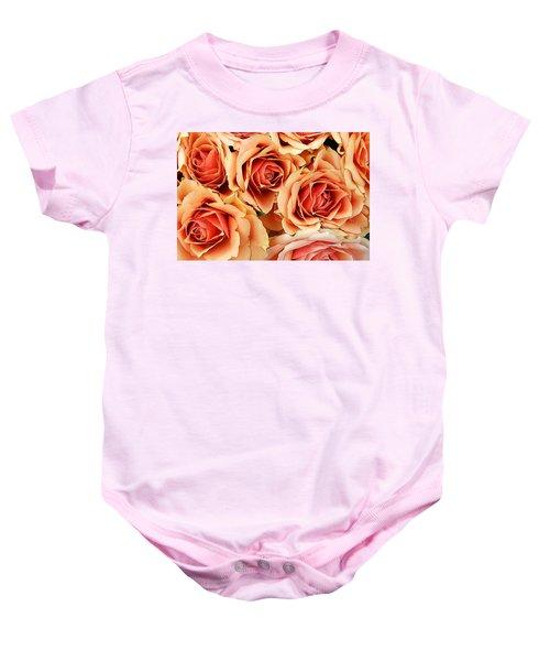 Bergen Roses Baby Onesie