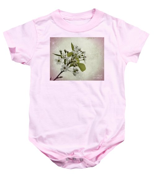 Etched In Love Baby Onesie