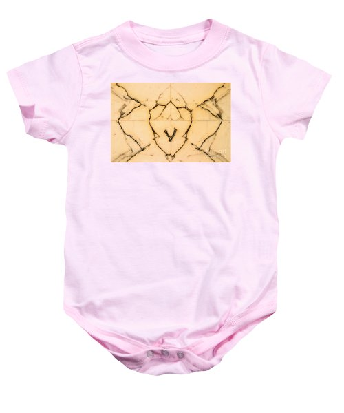 Marble Face Baby Onesie