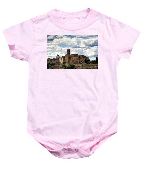 Temple Of Venus And Roma Baby Onesie