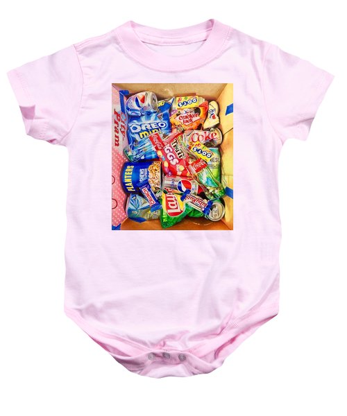 Dibs On The Baby Ruth Baby Onesie