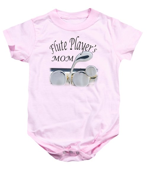Flute Players Mom Baby Onesie
