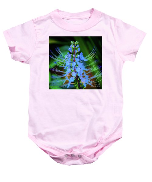 Tropical Plants And Flowers In Hawaii Baby Onesie