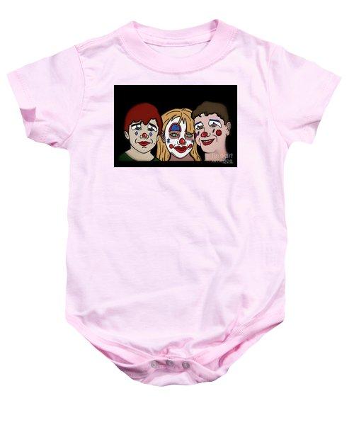 3 Jesters Baby Onesie