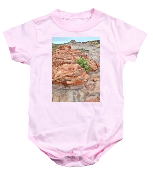 Colorful Sandstone In Valley Of Fire Baby Onesie