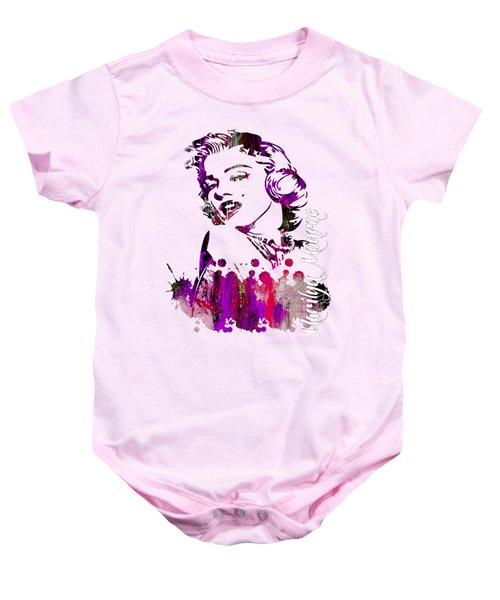 Marilyn Monroe Collection Baby Onesie