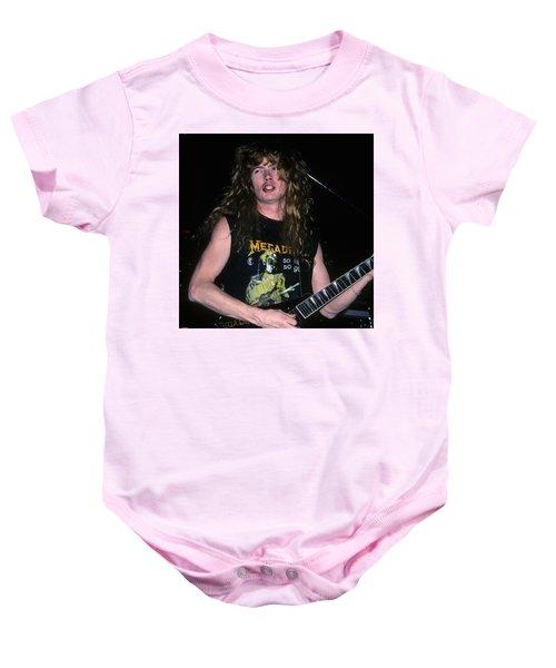 Dave Mustaine Of Megadeth Baby Onesie