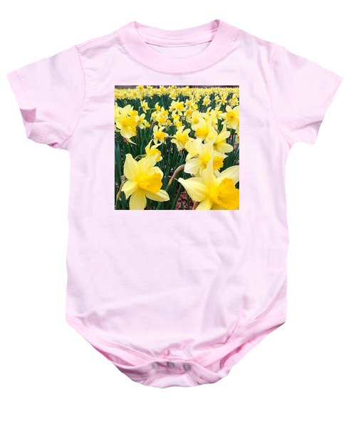 Angeline's Garden  Baby Onesie
