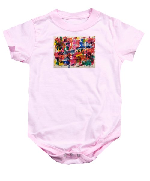 A Busy Life Baby Onesie