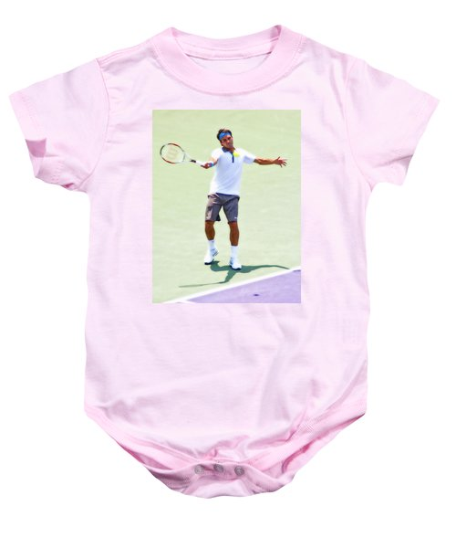 A Hug From Roger Baby Onesie