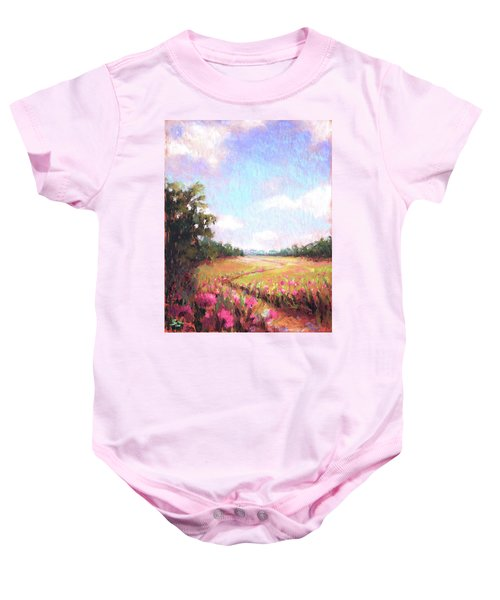 A Spring To Remember Baby Onesie