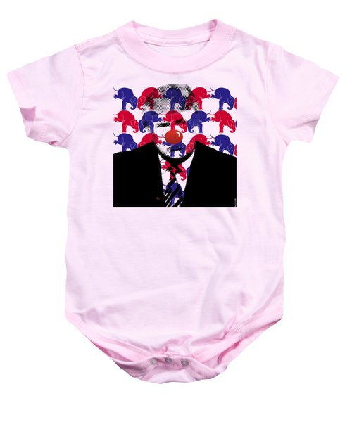 A Triumphant Clown Variant #66 Baby Onesie by Mr Clever