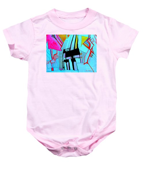 Abstract-28 Baby Onesie