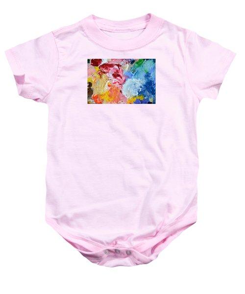 An Artful Blend Baby Onesie