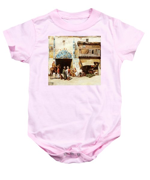 Angurie In Cortile Baby Onesie