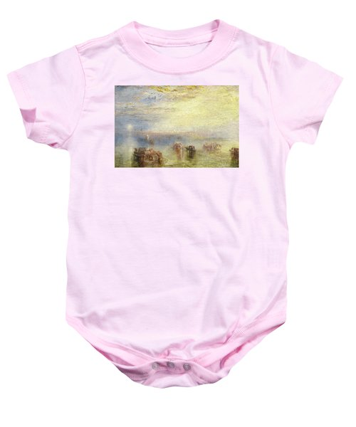 Approach To Venice Baby Onesie