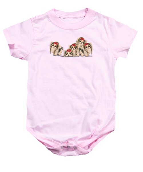 Biewer Pack Baby Onesie